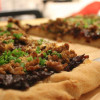 Sausage, Manchego, and Balsamic Cabernet Onion Pizza