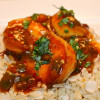 Chili Lime Garlic Shrimp with Coconut Brown Basmati Rice