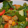 Panzanella Salad with Baby Kale, Chickpeas, and Lemon Herb Vinaigrette
