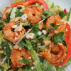 Thai Shrimp Salad with Sesame Peanut Dressing