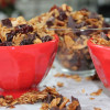 Dark Chocolate Cherry Vanilla Bean Granola