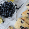 Buttermilk Lemon Blueberry Scones