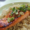 Sweet Chili Honey Lime Salmon