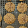Whole Wheat Peach Crumb Muffins
