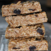 Vanilla Cashew Butter Blueberry No-Bake Granola Bars