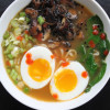Sesame Mushroom Red Curry Ramen