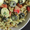 Antipasto Pesto Pasta Salad