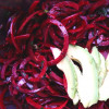 Spiralized Beet Salad with Lemon Parsley Vinaigrette, Pistachios, and Avocado