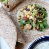 Mexican Chicken Quinoa Salad Wraps