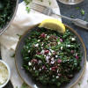 Mediterranean Kale and Lentil Salad