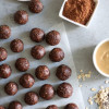 My Go-to Chocolate Peanut Butter Energy Bites!