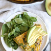 Leek Bacon Potato Frittata