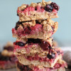 Berry Oatmeal Crumble Bars