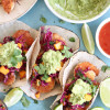 Coconut Shrimp Tacos with Mango Sweet Chili Slaw