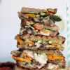 Pesto Grilled Vegetable Paninis