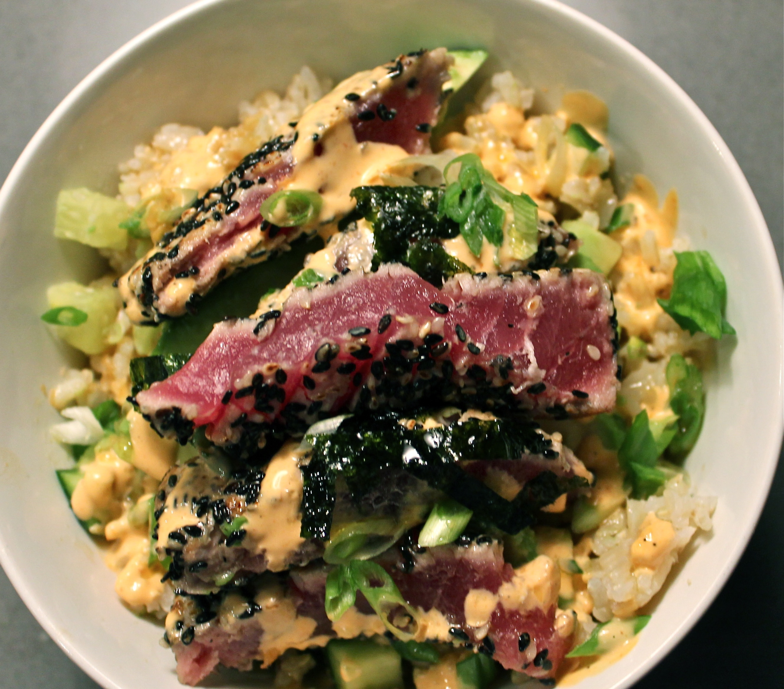 tuna with lime cook the tuna over seared sesame tuna salad with ginger ...