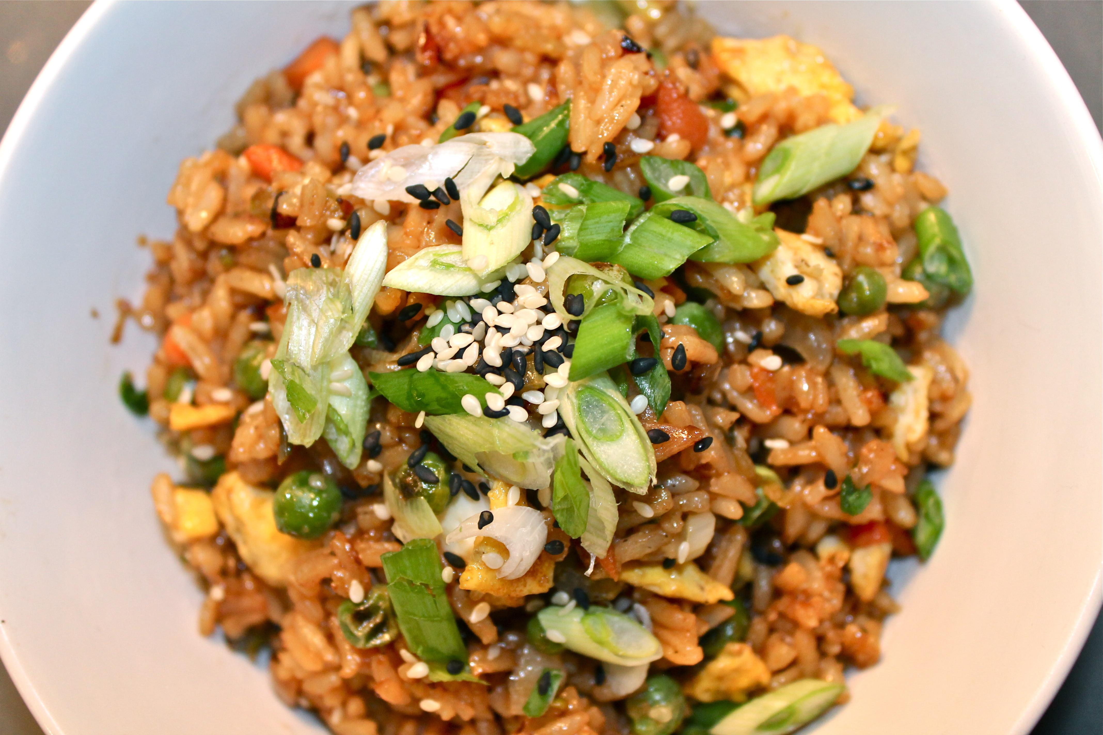 Simple Veggie Fried Rice