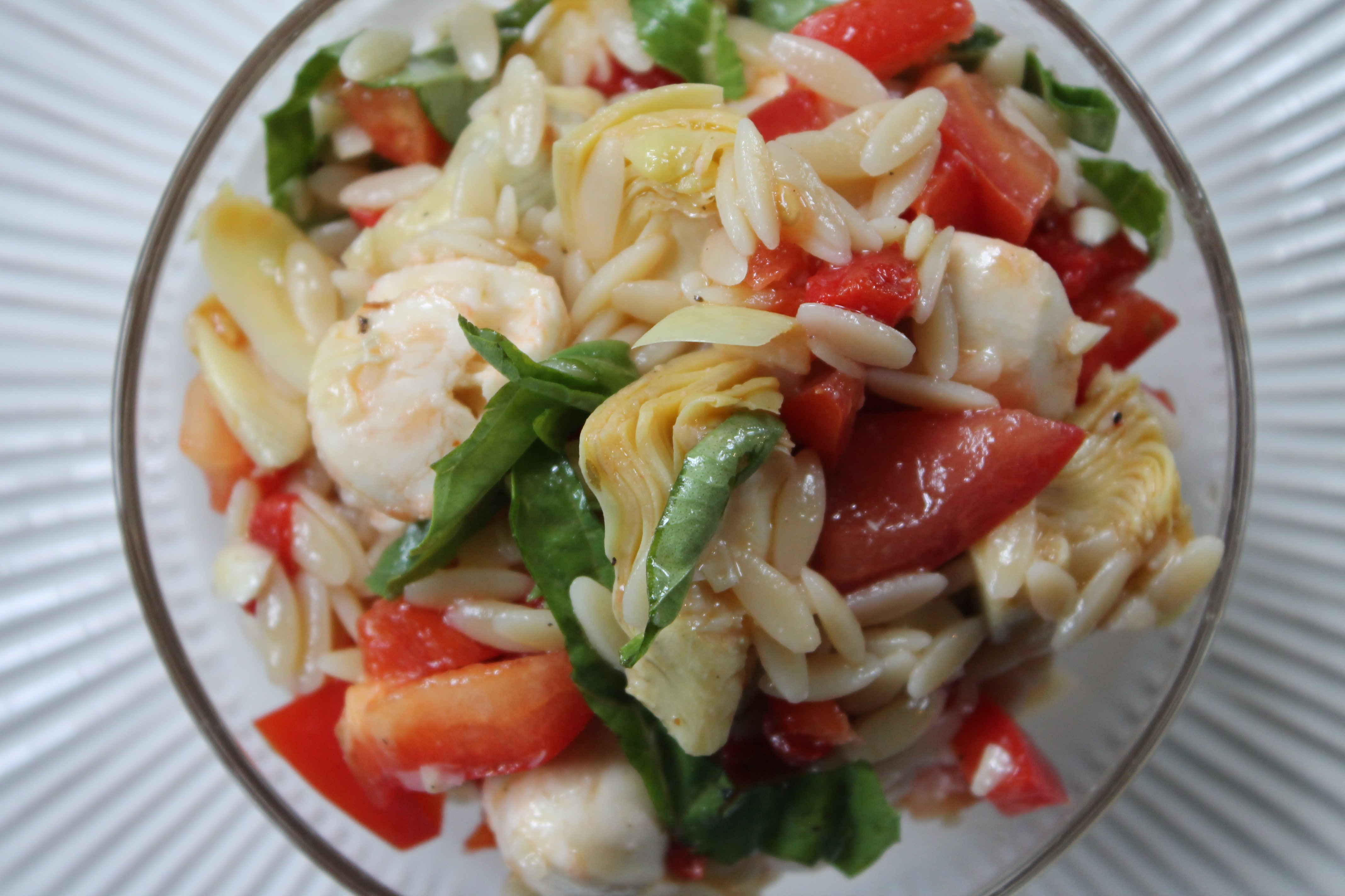 Simple Meditteranean Orzo Salad