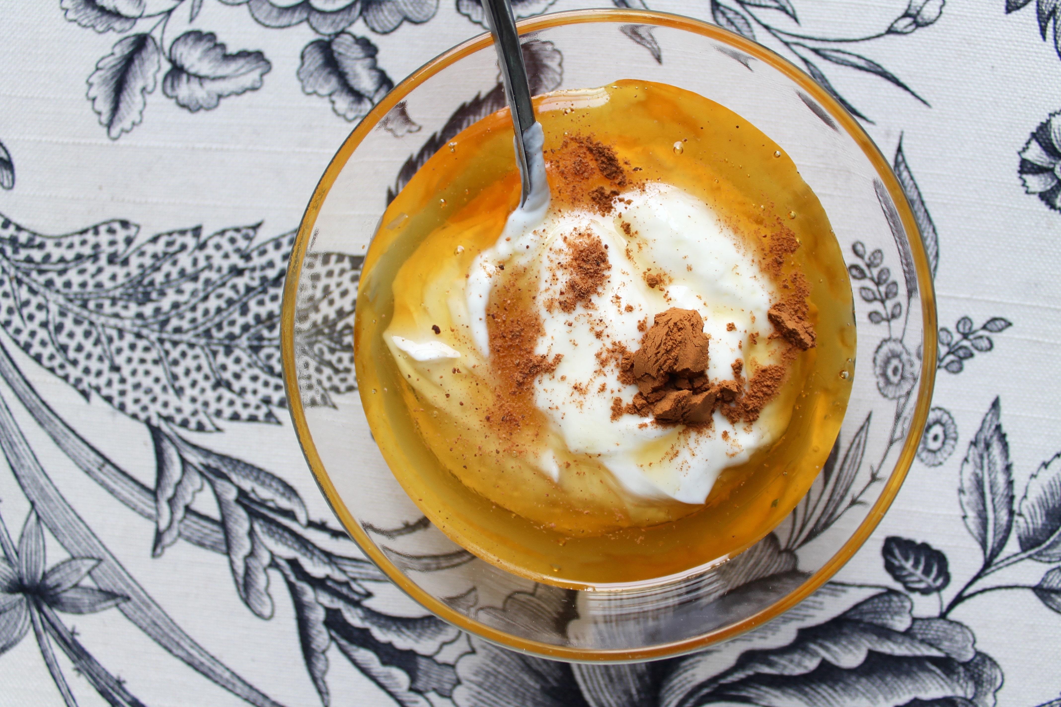 Satsuma Orange Spiced Polenta Upside Down Cake with Honeyed Maple ...