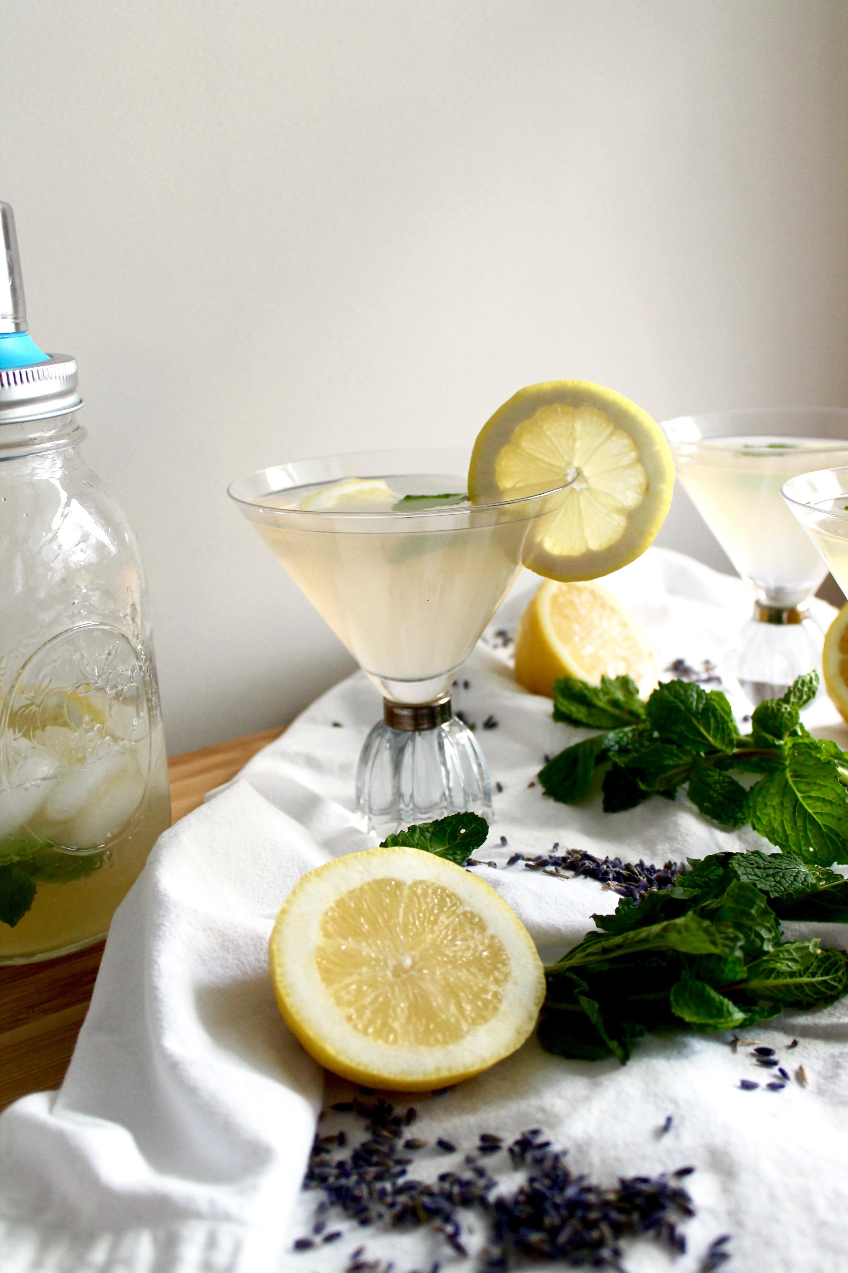 Lavender Mint Vodka Lemonade Spices In My Dna