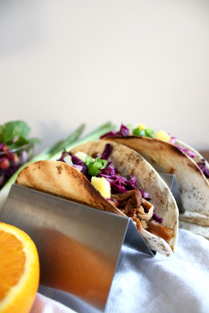 Hawaiian Pulled Pork Tacos with Pineapple Slaw - Spices in My DNA
