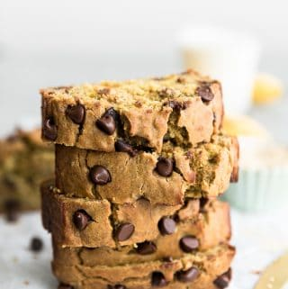 Quinoa Flour Chocolate Chip Banana Bread