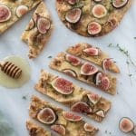 5 Ingredient Fig and Smoked Gouda Flatbreads