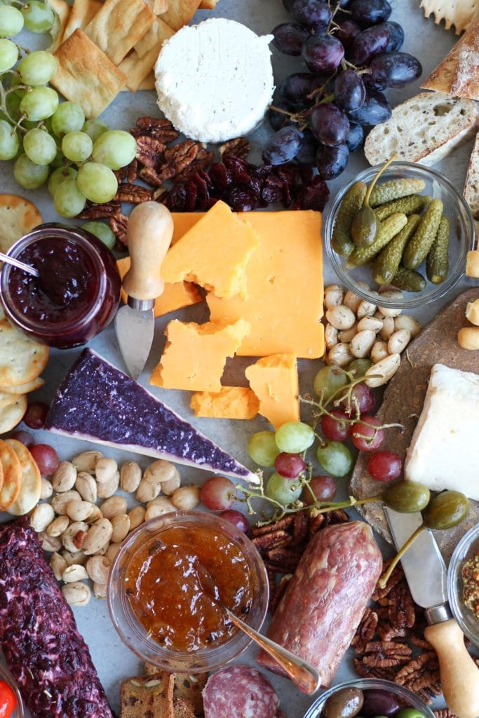 How I Build a Holiday Cheese Board +  Quick Spiced Apricot Preserves!