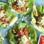 20 Minute Turkey Taco Lettuce Wraps