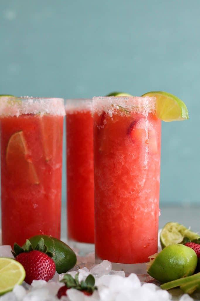 Strawberry Frozen Margaritas