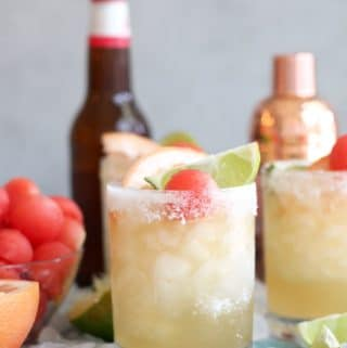 Grapefruit Watermelon Shandy Beergaritas