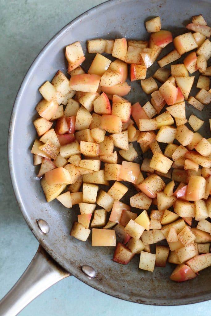 Orange Scented Yogurt Bowls with Apple Pie Granola