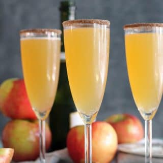 Apple Cider Chai Mimosas (+ a video!)