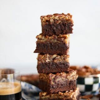 Pecan Pie Espresso Brownies
