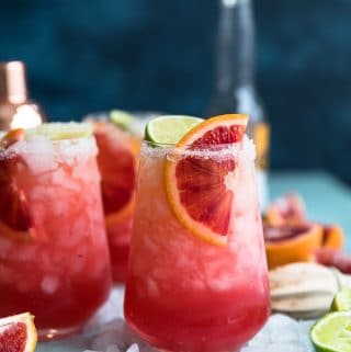 Blood Orange Beergaritas