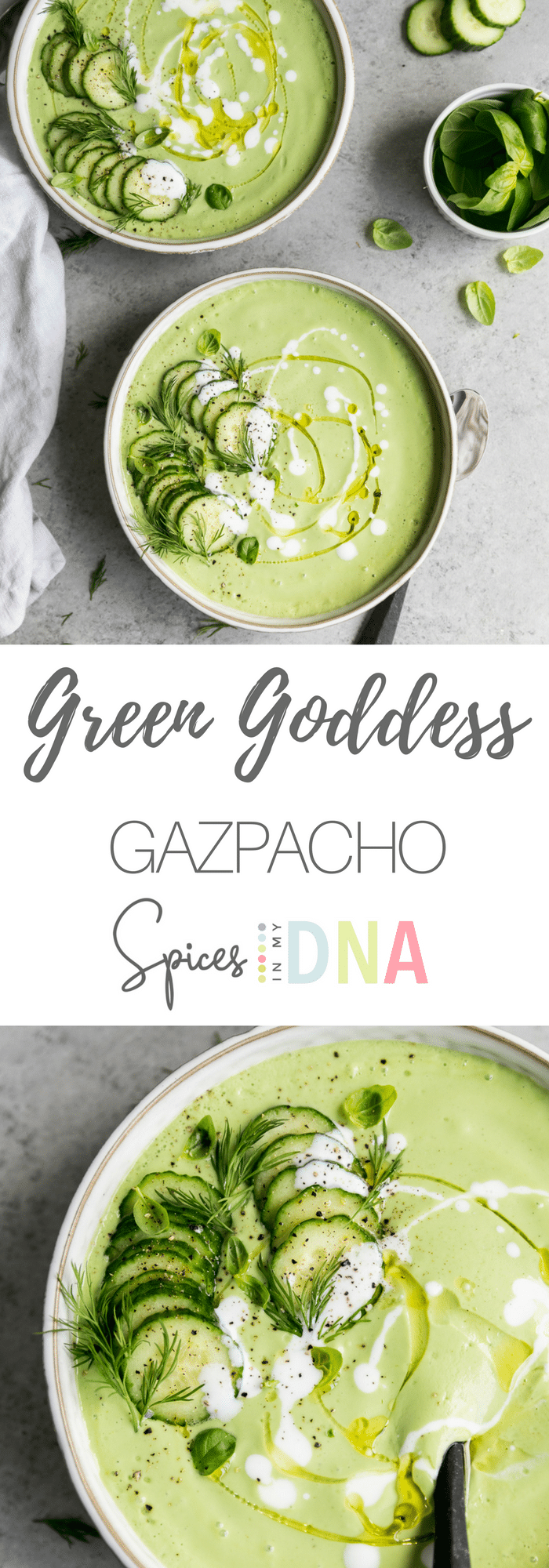 Green Goddess Gazpacho