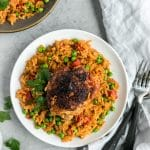 One Pan Spanish Chicken and Rice