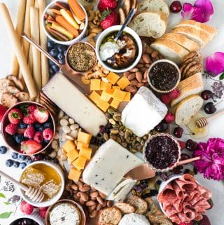 My Go-To Summer Happy Hour Cheeseboard!