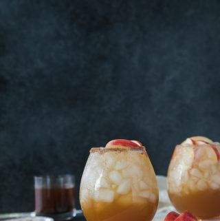 Apple Pie Bourbon Fizz