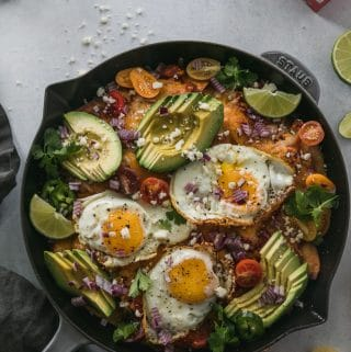 Pumpkin Chipotle Chilaquiles