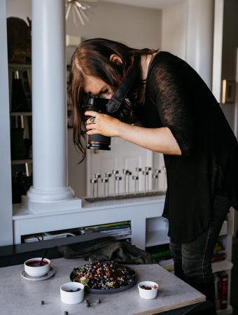 Behind the scenes of photographing Eat More Plants + the cover shoot!