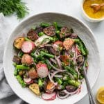 Spring Roasted Potato Salad