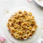 Brûléed Peanut Butter Banana Pie