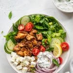 Chicken Shawarma Bowls