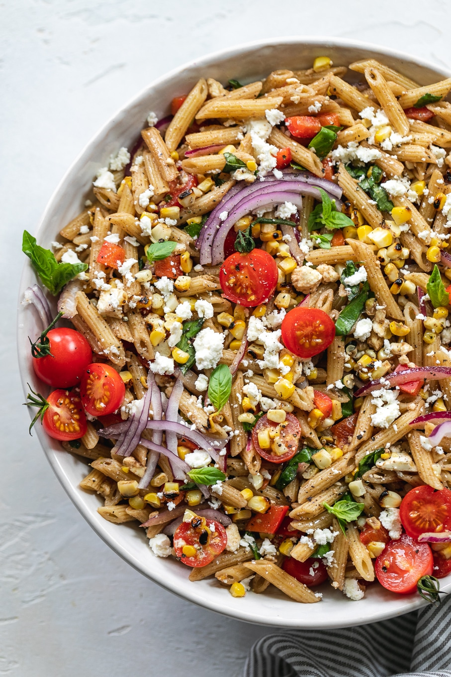 Grilled Corn Pasta Salad
