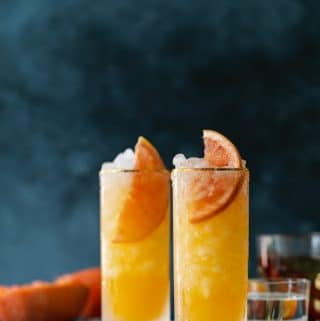 Cinnamon Grapefruit Paloma