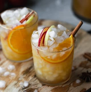 Spiced Orange Apple Cider Sangria