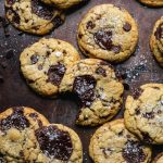 Ultimate Triple Chocolate Chip Cookies
