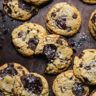 Ultimate Triple Chocolate Chip Cookies